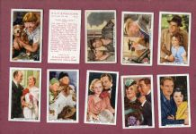 Cigarette cards Film Episodes 1936,Laurel & Hardy,Shirley Temple, & etc